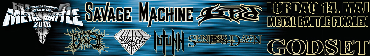 Finalen i WOA Metal Battle 2016, Godset i Kolding