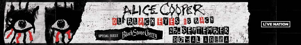 Køb billetter til Alice Cooper i Royal Arena