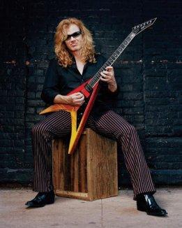 Mustaine taler!