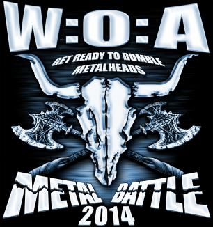 W:O:A Metal Battle 2014 - Deltagerne er fundet!