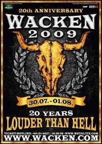 Wacken – nu 20 år!