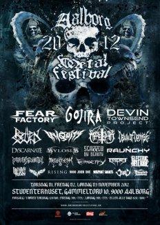 Konkurrence: Aalborg Metal Festival 2012