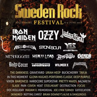 Sweden Rock Festival 2018 - Guide