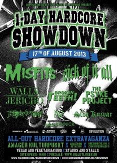 Nyt hovednavn til 1-Day Hardcore Showdown 2013!