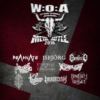 Navnene til årets W:O:A Metal Battle er klar