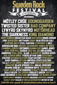 Sweden Rock 2012 nærmer sig