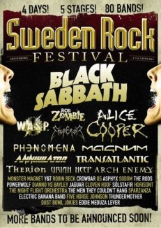 Top 5 - Sweden Rock Festival '14