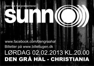 Konkurrence: Sunn O)))