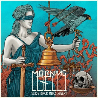 MORNING BELL - Slide Black Into Misery - Artwork by Morten Grønnegaard_LO