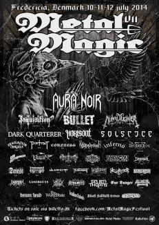 Top 5 - Forskelle OG ligheder mellem Metal Magic og Roskilde Festival