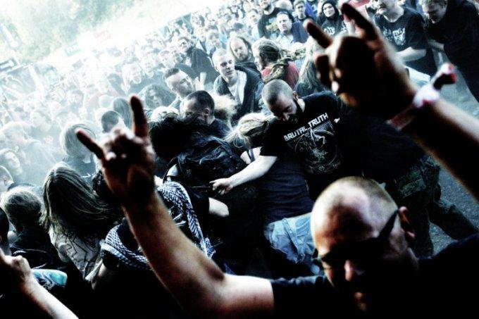 Fotoreportage: Copenhell 2012, publikum