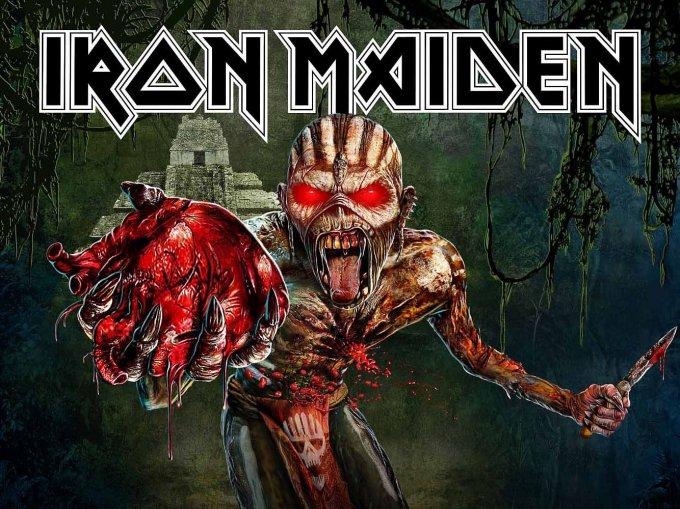 Konkurrence: Vind billetter til Iron Maiden i Boxen!