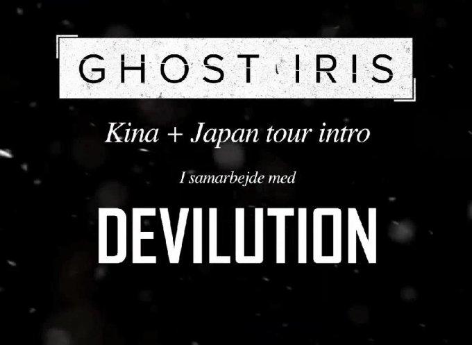 Ghost Iris i Kina og Japan – tour-dagbog