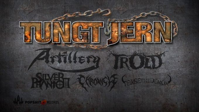 TUNGT JERN eventcover bands 2021