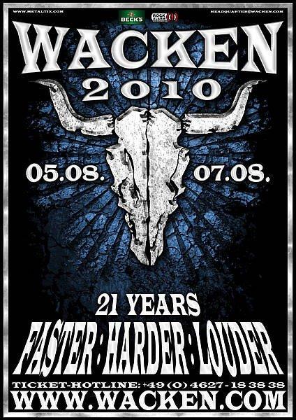 Det SKAL du se på Wacken 2010
