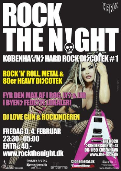Klubjam.dk: Rock The Night