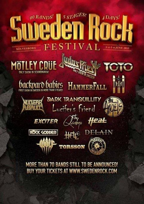 Top 5 - Sweden Rock Festival 2015