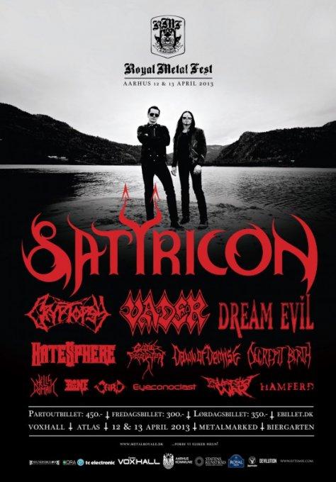 Konkurrence: Royal Metal Fest 2013!