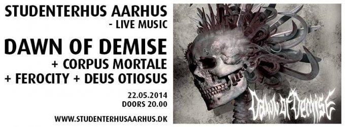 Konkurrence: Dawn Of Demise + Corpus Mortale + Ferocity + Deus Otiosus