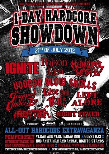 Top 5 - 1-Day Hardcore Showdown