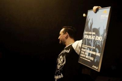 Volbeat vinder wildcard og pris