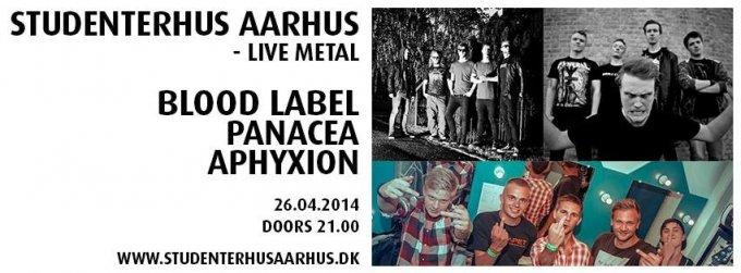 Konkurrence: Blood Label + Panacea + Aphyxion