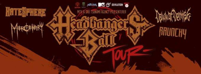 Headbangers Ball Tour 2014