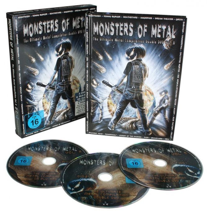 "Konkurrence: Vind ""Monsters of Metal #8"""