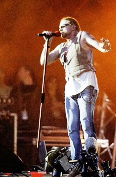 RF'06: Pinlig parodi på Guns N Roses